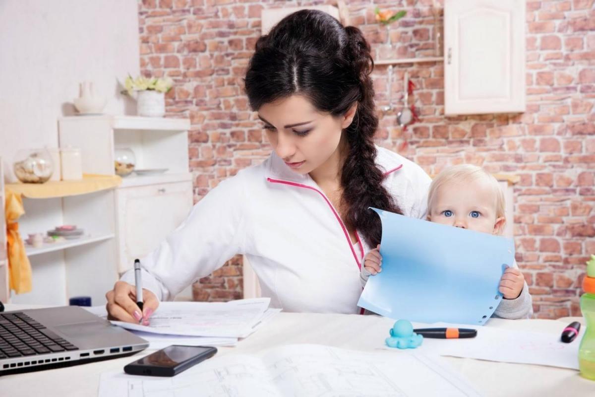 Работа для фриланс-мамы