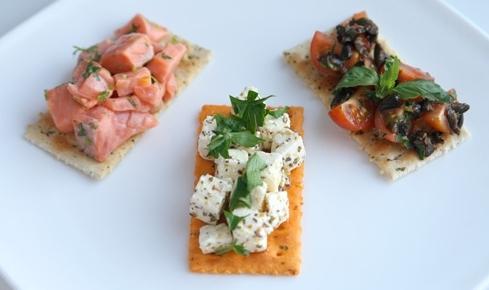 Бутерброди для вечірки – фото