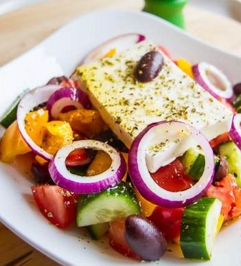 Грецький салат. Як приготувати