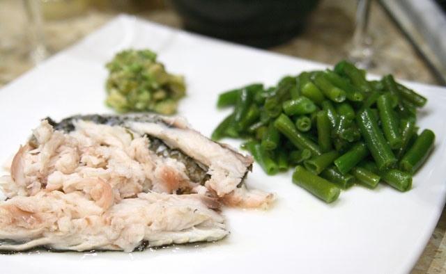 Риба, запечена в солі. Як приготувати