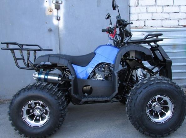 Квадроцикл COMMAN ATV 125 XT-N. Основні переваги.