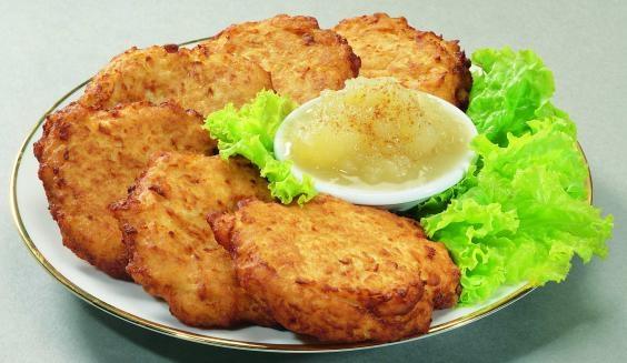 Картопляні деруни. Як приготувати?