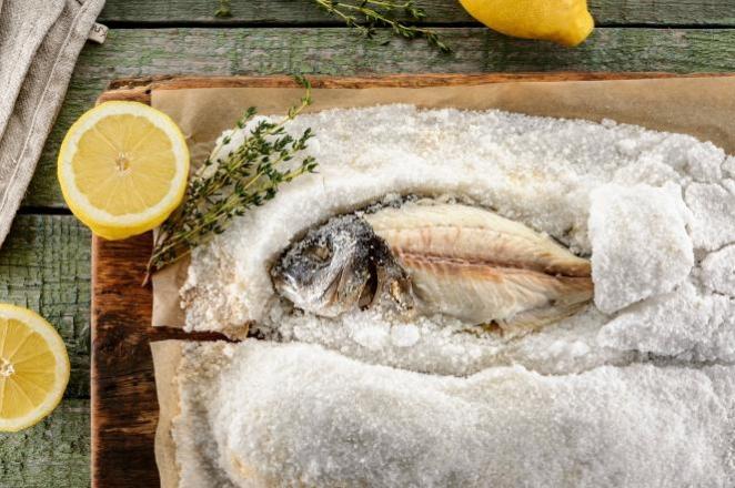 Риба, запечена в солі. Як приготувати?